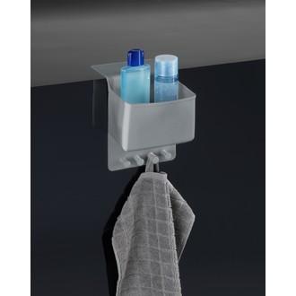 Rangement compartiment + attaches en silicone gris