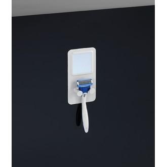 Porte rasoir en silicone blanc thermostatique