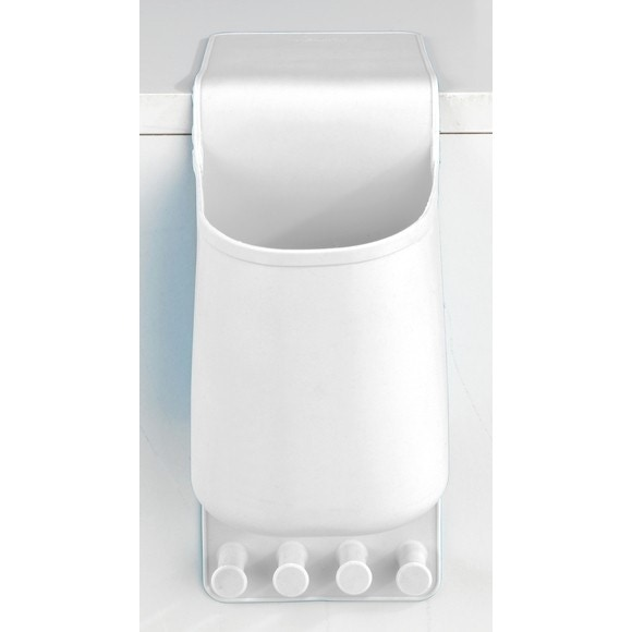 Porte sèche cheveux en silicone blanc thermostatique