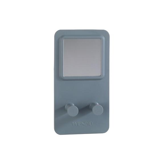Porte rasoir en silicone gris thermostatique