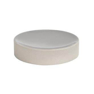 Porte savon gris céramique tania