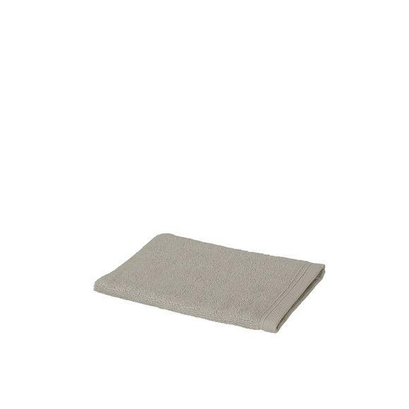 Gant de toilette en coton éponge beige sand