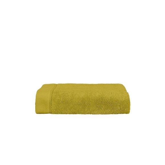 Asciugamano viso giallo verde 50x100cm