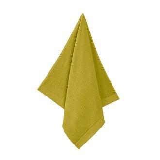 Serviette de douche 70x140cm en coton éponge warm olive