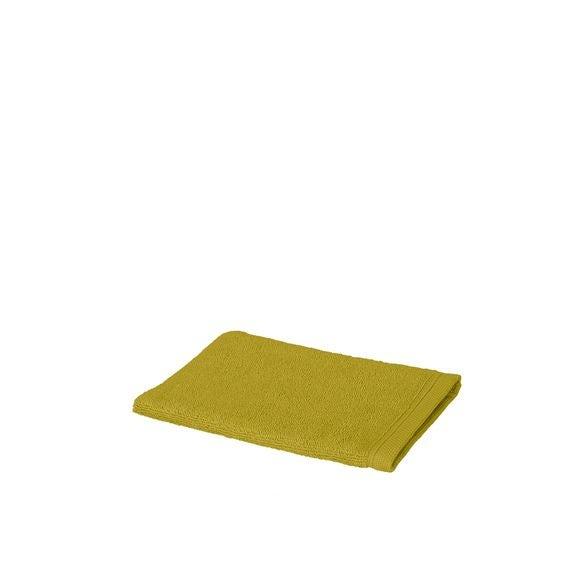 Gant de toilette en coton éponge warm olive