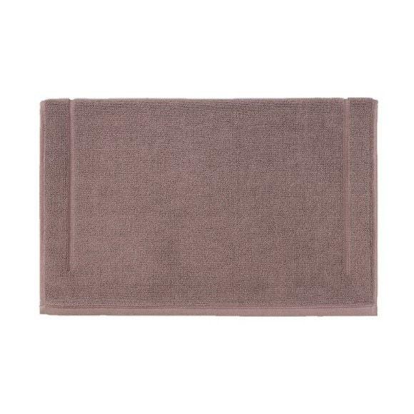 acquista online Tappeto da bagno quadrato in spugna di cotone malva 60x60