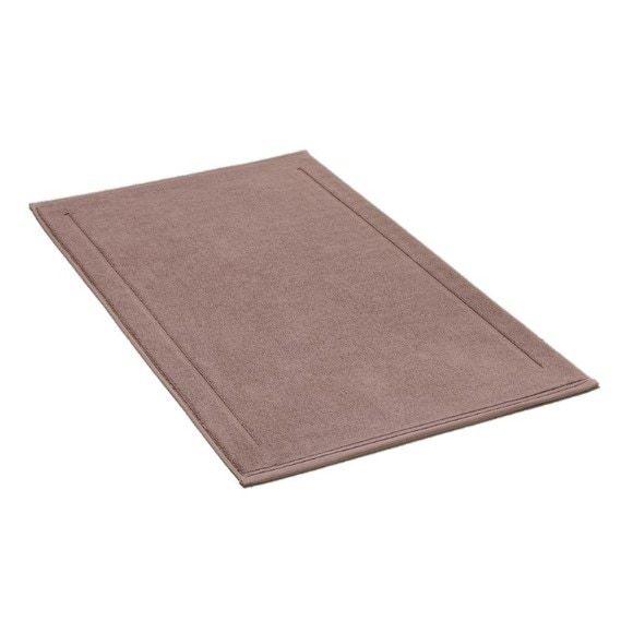 Tappeto da bagno rettangolare in spugna di cotone malva 60x100