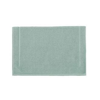 Tapis de bain en éponge céladon 60x60cm 1300g/m2