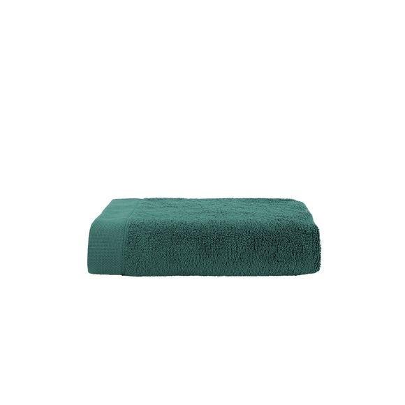 Serviette de douche en coton éponge deep jungle 70x140cm