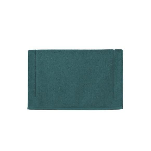 Tappeto da bagno quadrato blu 60x60cm