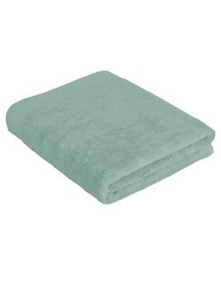 Serviette de bain 100x150cm en coton éponge céladon