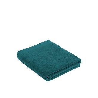 Serviette de bain en coton éponge harbor blue 100x150cm