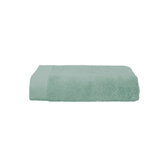 Asciugamano ospite in cotone verde salvia 30x50cm