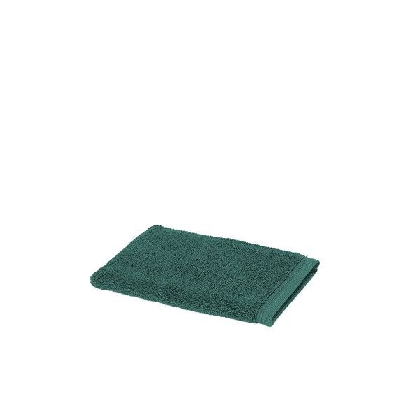 Guanto da bagno in cotone verde