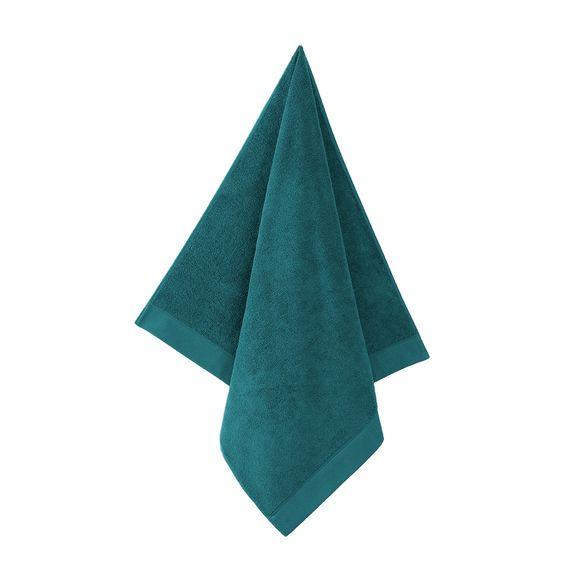 Serviette de douche en coton éponge harbor blue 70x140cm