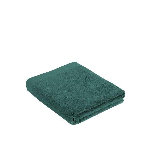 Asciugamano bagno in cotone verde 100x150cm