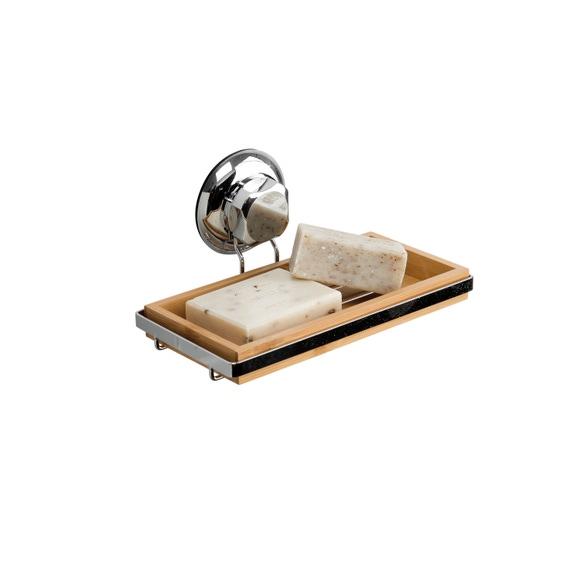 Achat en ligne Porte savon Gamme spa support en bambou