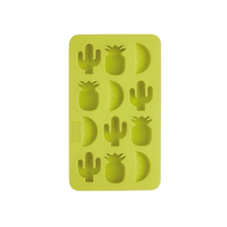 Bac 12 glaçons tropical silicone
