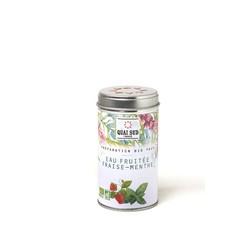 Achat en ligne Préparation pour eaux fruitées fraise-menthe35g