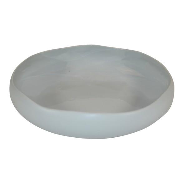 Achat en ligne Assiette calotte oslo gris mat / brillant 20 cm
