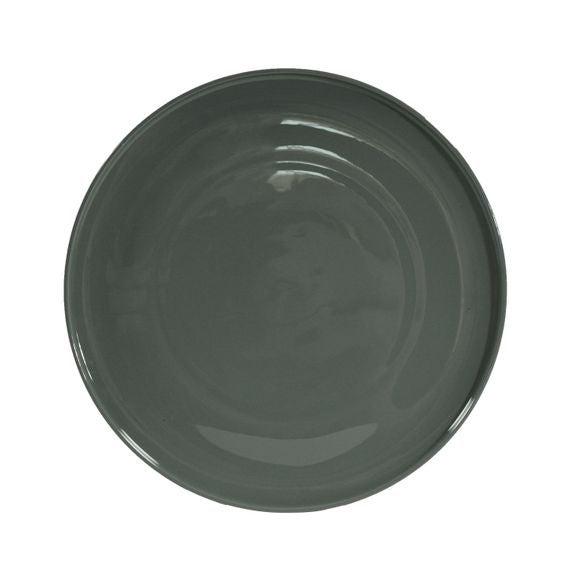 Achat en ligne Assiette plate Dune gris 26,5 cm