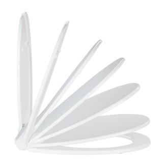 Abattant kos aroma thermoplastique blanc déclipsable