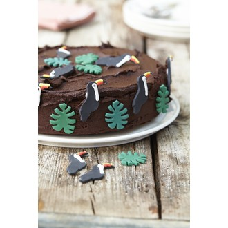 CREATIVE PARTY - Décors en sucre 5 toucans