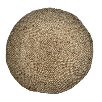 Coussin rond en jute tressé pelago Ø 40cm