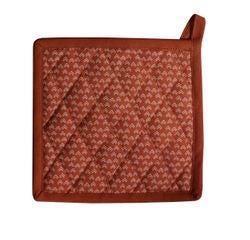 acquista online Presina da forno in cotone rosso