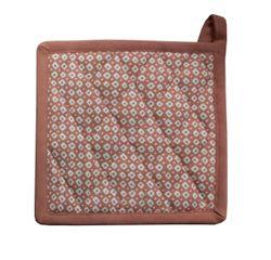 acquista online Presina da forno in cotone rosa antico