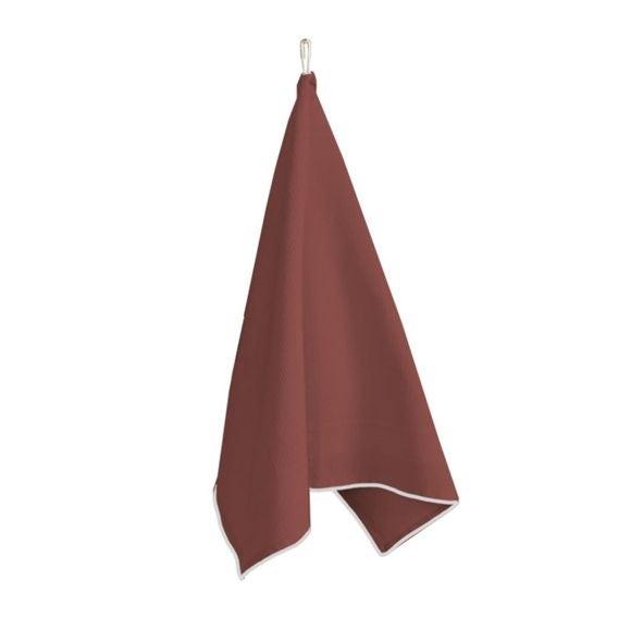 Canovaccio 100% cotone rosso