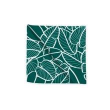 Achat en ligne Serviette de table 45x45 cm imprimé en coton malachite