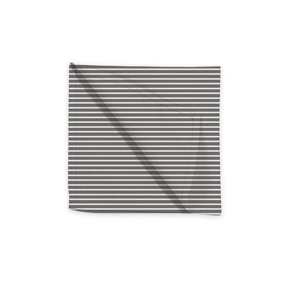 Serviette de table 45x45 cm tissé teint en coton souris