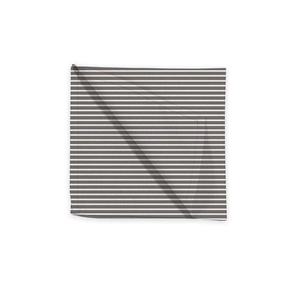 Achat en ligne Serviette de table 45x45 cm tissé teint en coton souris