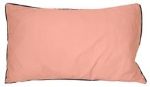 Achat en ligne Coussin en coton lavé rose fané Ines 30x50cm