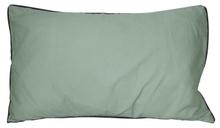 Achat en ligne Coussin en coton lavé gris fumée Ines 30x50cm