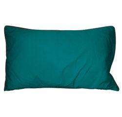 Achat en ligne Coussin en coton lavé vert peacock Ines 30x50cm