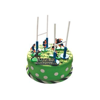 PATISDECOR - kit déco gateau rugby