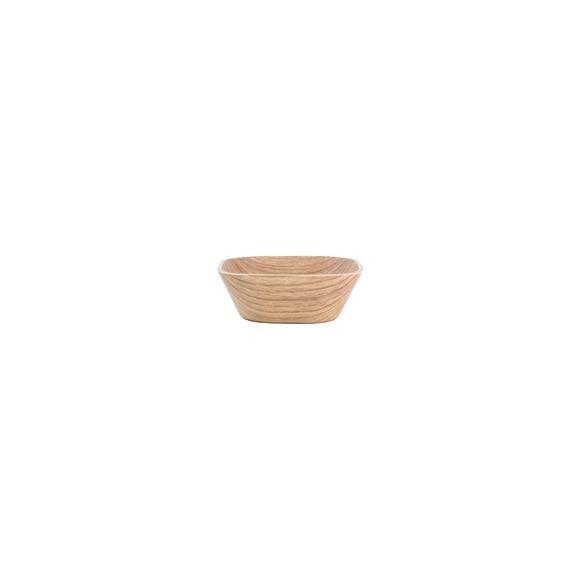 acquista online Ciotola quadrata in legno 11x11x4 cm