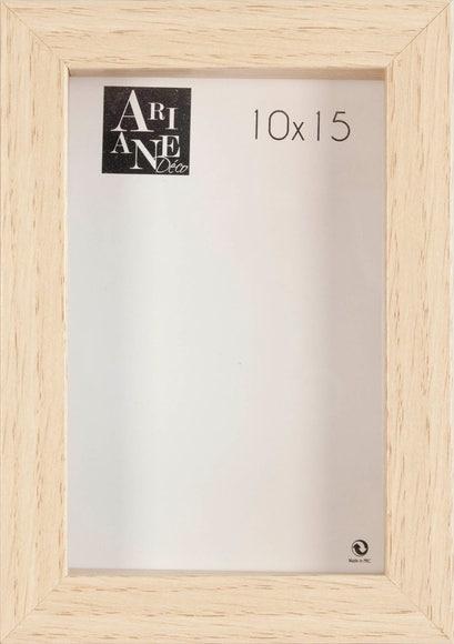 Achat en ligne Cadre vitrine chêne 10x15cm
