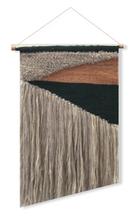 Achat en ligne Tissage équilibro écru noir terre 30x40cm