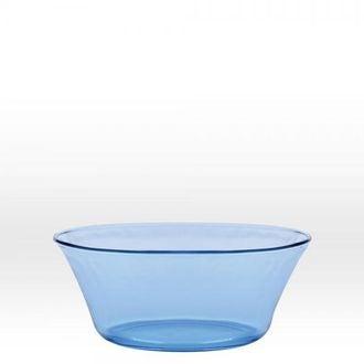 DURALEX - saladier verre Marine bleu clair 17cm