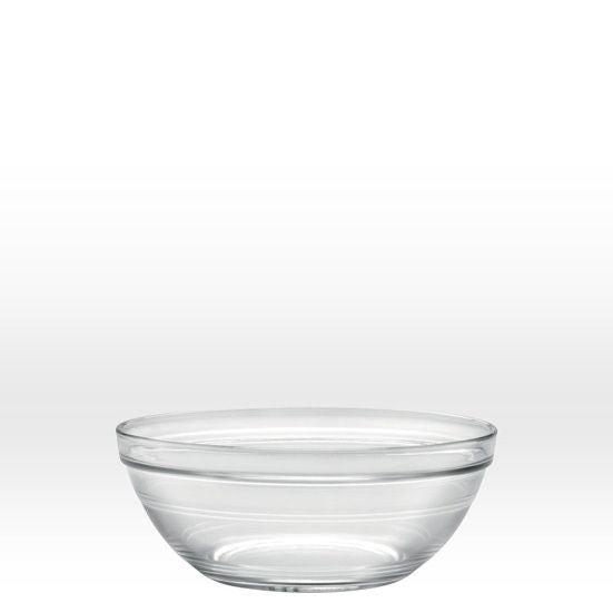 Insalatiera Duralex Lys impilabile in vetro trasparente Ø23 cm