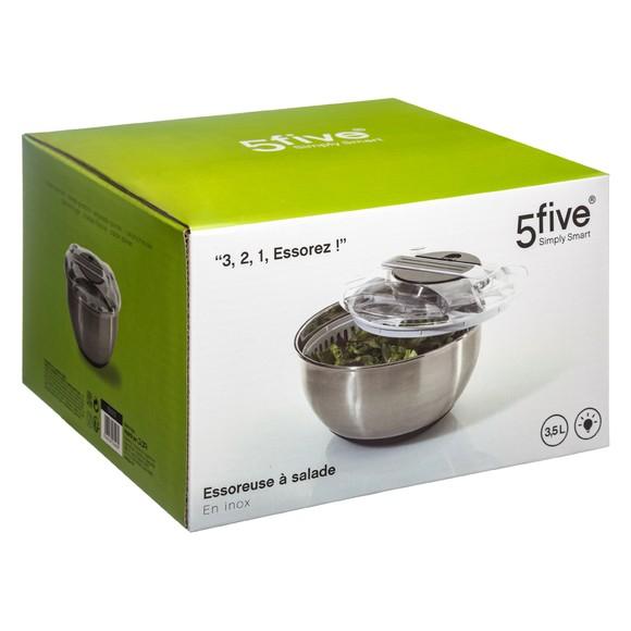acquista online Centrifuga per insalata in acciaio inox con leva Ø27cm