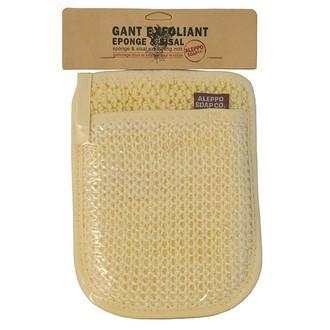 Gant exfoliant sisal