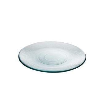 Assiette plate basico transparente 27 cm