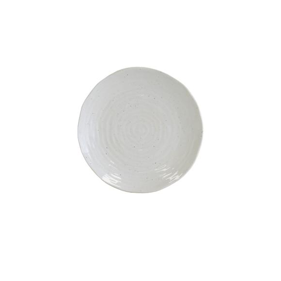 Achat en ligne Assiette à dessert crème artisan 21,5 cm