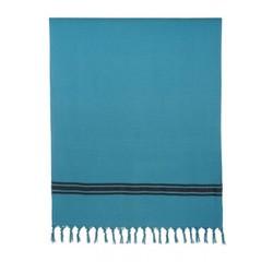 Achat en ligne Drap de plage 90X180 cm en coton bleu crépuscule