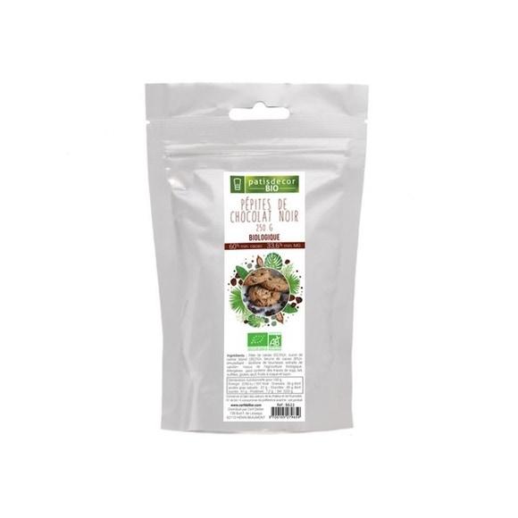 Achat en ligne Pépites de chocolat noir bio 250g