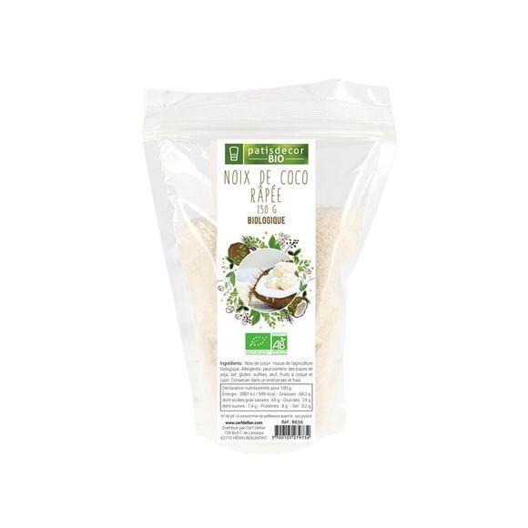 compra en línea Coco rallado ecológico Patisdecor (250 gr)